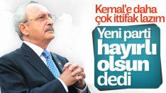 Kılıçdaroğlu'na yeni parti iddiaları soruldu