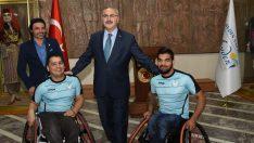 Aydın Valiliği'nden Engelli Sporculara Tekerlekli Sandalye