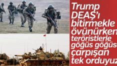 MSB: DEAŞ'a karşı göğüs göğüse çarpışan tek orduyuz