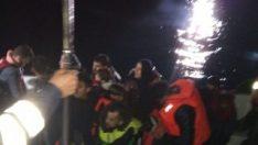 Sahil Güvenlik ekipleri mültecilere geçit vermedi