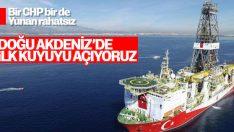 Türkiye Doğu Akdeniz'de ilk kuyusunu açıyor