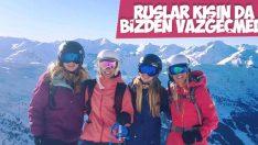 Türkiye'nin kışı Ruslar için tatil