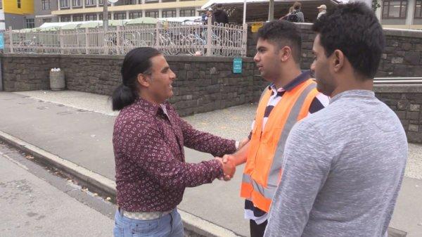 Yeni Zelanda saldırısının büyümesini önleyen Afgan göçmen