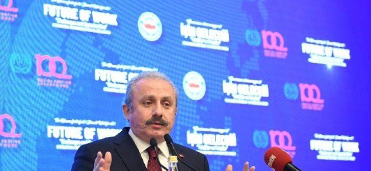 """TBMM Başkanı Şentop """"İşin Geleceği, Tehditler ve Fırsatlar"""" Konferansına Katıldı"""