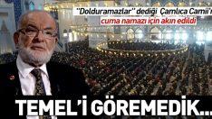 Karamollaoğlu'nun dolmaz dediği Çamlıca Camii'ne cuma namazı için akın edildi