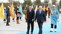 Belarus Cumhurbaşkanı Lukashenko Cumhurbaşkanlığı Külliyesi'nde