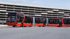 250 yolcu kapasitesine sahip dünyanın en uzun elektrikli otobüsü