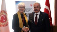 TBMM Başkanı Şentop, Antalya'da NATOPA Başkanı ile Görüştü