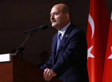 Bakan Soylu'dan uyuşturucu operasyonu açıklaması