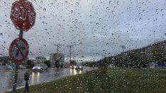 Öğle saatleri için sağanak yağış uyarısı!