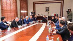Karalar, İlçe Belediye Başkanlarıyla Toplantı Yaptı