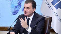 Ömer Çelik'ten Anadolu Ajans'a Kutlama