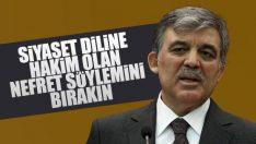 Abdullah Gül Kılıçdaroğlu'na yönelik saldırıyı kınadı