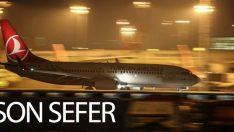 Atatürk Havalimanı'nda son sefer Singapur'a yapıldı