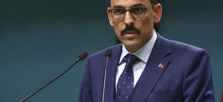 """Kalın: """"Türkiye, 2023 Hedeflerine Kenetlenerek Yoluna Devam Edecek"""""""