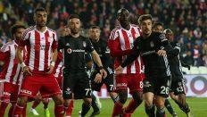 D. G. Sivasspor 1-2 Beşiktaş