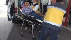 Emekli polis, otobüs şoförünü yaraladı