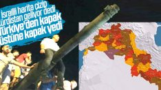 Harita paylaşan İsrailli akademisyene yanıt