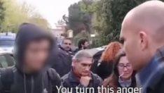 İtalya'da 15 yaşında genç, ırkçı eylemcilere kafa tuttu