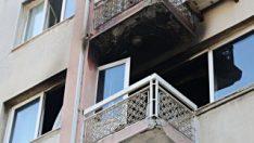 İzmir'de  yaşayan aileyi alevlerin arasından kurtardı