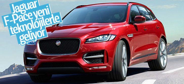 Jaguar F-Pace yeni teknolojisiyle büyülüyor