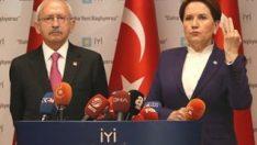 Kılıçdaroğlu ile Akşener ortak basın toplantısı düzenledi