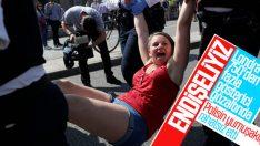 Londra'daki çevreci işgal eyleminde gözaltı 750 oldu