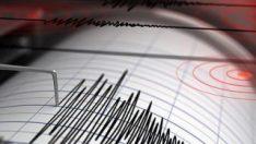 Malatya'da 3.4 büyüklüğünde deprem