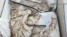 Kanalizasyon Çalışması Sırasında Tarihi Eser Bulundu