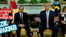 Trump Sisi ile bir araya geldi